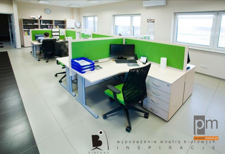 Kolory w biurze, czyli tysiące sposobów na meble biurowe.